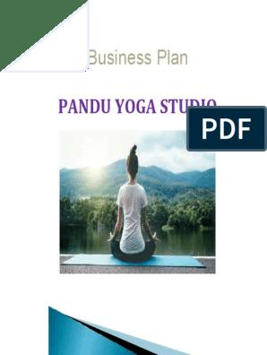 Business Plan Of Pandu Yoga Studio Pdf Meditation Yoga Free 30 Day Trial Scribd