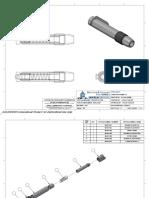 eraser holder assembly