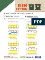 2019 Calendar Penrith