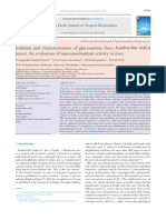 Isolation and characterization of glucosamine from Azadirachta indica leaves