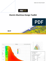 Ansys Electric machine design toolkit