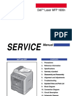 Manual Service Dell 1600n