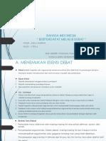 PPT Materi Kelas X SMA Mata Pelajaran Bahsa Indonesia Bab 6 tentang Debat