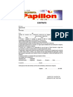 Contrato Papillon