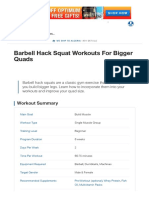 Barbell Hack Squat Workouts for Bigger Quads _ Muscle & Strength