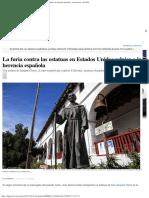 Junípero Serra_ La Furia Contra Las Estatuas en Estados Unidos Salpica a La