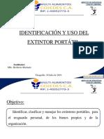 Presentación Extintor Portatíl.