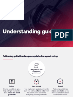 Understanding Guidelines