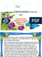 responsible use of ict