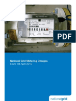 National Grid Metering Charges 2010