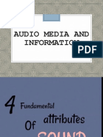 Audio Media and Information