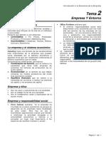 Introducción a la Economía UNED- Empresa y Entorno