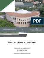 MRAS Basado en Lyapunov