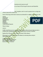 Pharma Interview Questions and Answers for Fresher's PDF Free Download QA QC MR Pharmacist Interview