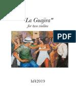 La Guajira (Score)