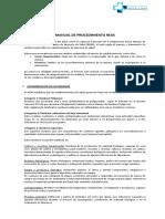 Manual de Procedimiento REAS