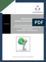 5.- Informe de Resultados Grupos Focales y Entrevistas