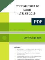 Ley 1751 de 2015-Estatutaria de Salud