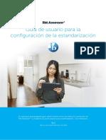 Assessor3 StandardisationSetup IB Spanish