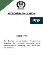 Microgrid Simulation