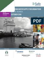 Safe Water Network_Mumbai City Report