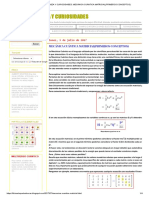 Mecánica Cuántica Matricial(Primeros Conceptos)