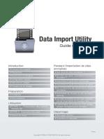 Data Import Utility Guide v2.3.1 FRE Rev0