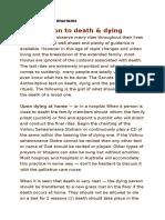 death &rituals