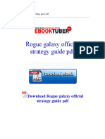 Rogue Galaxy Official Strategy Guide PDF