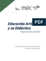 educacion artistica y su didactica
