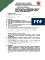 TDR Sistema de Reservorio Toma Ruri-nivin