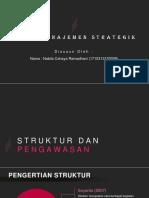 Manajemen Strategik-struktur Dan Pengawasan