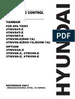 Yanmar electronic repair manual for Hyundai machines
