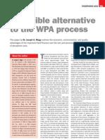Alternative to Wet Process