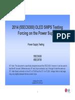 tv lg 55EC9300+OLED+SMPS+Testing