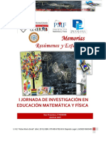 Memorias I JornadaInv MatematicaFisica
