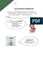 guía estrategias de multiplicación