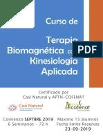 Curso Biomagnetismo Con Kinesiología Aplicada