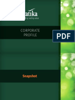 Vatika Corporate Profile 2018
