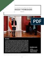 Cambio sustantivo en la política de infancia:AMENAZAS Y POSIBILIDADES
