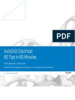 AutoCAD Electrical - 60 Tips in 60 Minutes