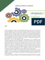 MANTENIMIENTO LIMPIEZA INTERIOR & EXTERIOR.odt