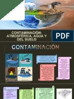 Contaminacion Atmosfera, Agua y Del Suelo (Expo) Doc
