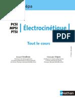 Classe Prépa Électrocinétique Pcsi Mpsi Ptsi B.gendreau, C.gripon MathMaroc.com