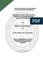 """AUDITORÍA EXTERNA PARA EL RUBRO ESPEC˝FICO DE NÓMINAS EN UNA INSTITUCIÓN BANCARIA"""".pdf"""