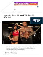 Summer Burn_ 12 Week Fat Melting Workout