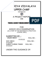 Travel Agency Project Report