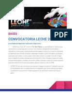 BASES Convocatoria LECHE 2019