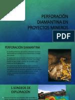 Perforación Diamantina en Proyectos Mineros