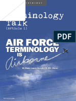 09-Terminology Talk (Article 1)-Air Force Terminology is Airborne e
